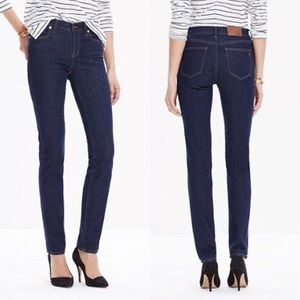 Madewell 'Alley' Straight Leg Jeans in DAVIS-WASH